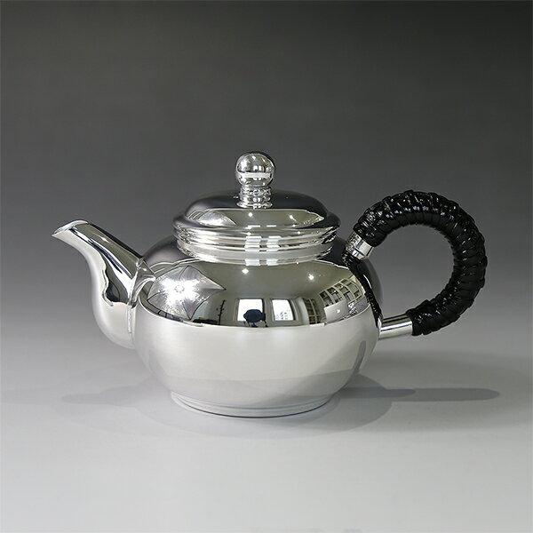 一守堂 純銀 ウーロン茶ポット100cc 無地 重量約170g/ハロウィン is