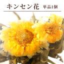 花 咲く工芸茶 単品 1個 キンセンカ 金花彩彩 ブルーミン...