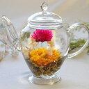 工芸茶 カレンデュラ5個 中国茶 緑茶 花咲くお茶 こうげい...