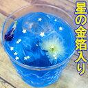 星に願いを・バタフライピー4包 青いお茶 バタフライピーティー 金箔入り プラネタリウム 宇宙 夜空