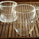 丸い形がかわいい耐熱ガラス製マグカップ。茶こし付きで便利です。お家カフェでほっと一息。中...