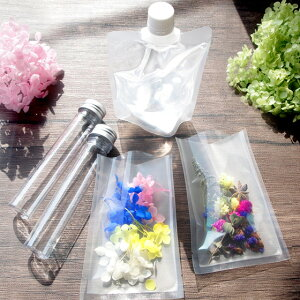 手作りハーバリウムキットスターターキット植物標本花ギフト手づくりオリジナルボトルドライフラワーハーバリウムオイル付き夏休み自由研究工作キット小学生プリザーブドフラワー