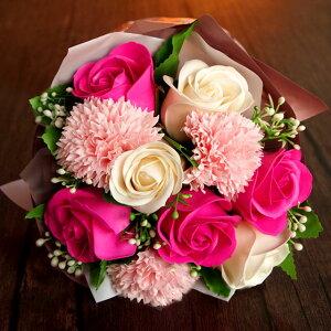 彩香 ソープフラワー 花束の写真