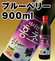 ブルーベリー「ホンチョ」。韓国では発売2ヶ月間で10億ウォンを売り上げた商品です。900mlミラ...