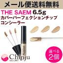 【選べる2個】 ザセム the SAEM カバーパーフェクションチップコンシーラー 6.8g ...