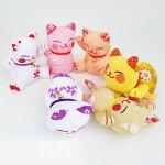【招き猫シリーズ】福猫ポーズマスコット