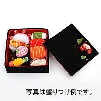 【お細工シリーズ】ちりめん細工寿司箱中