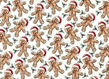 New!!【転写紙】クリスマスクッキーマン