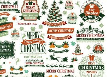 【転写紙】クリスマスレター