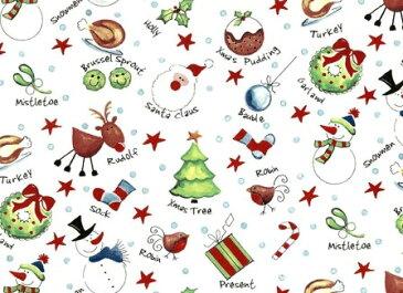 【転写紙】クリスマステキスト