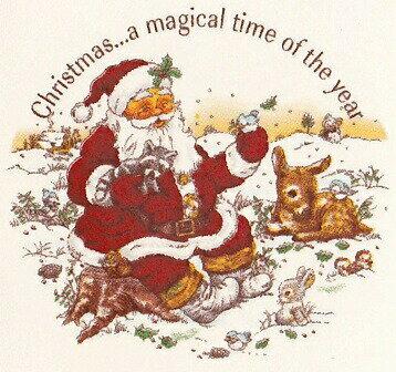 【転写紙】クリスマスマジカルタイム