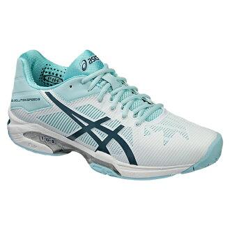 asics亞瑟士網球鞋女士女士凝膠解決方案速度3 OC TLL769 0161彩色