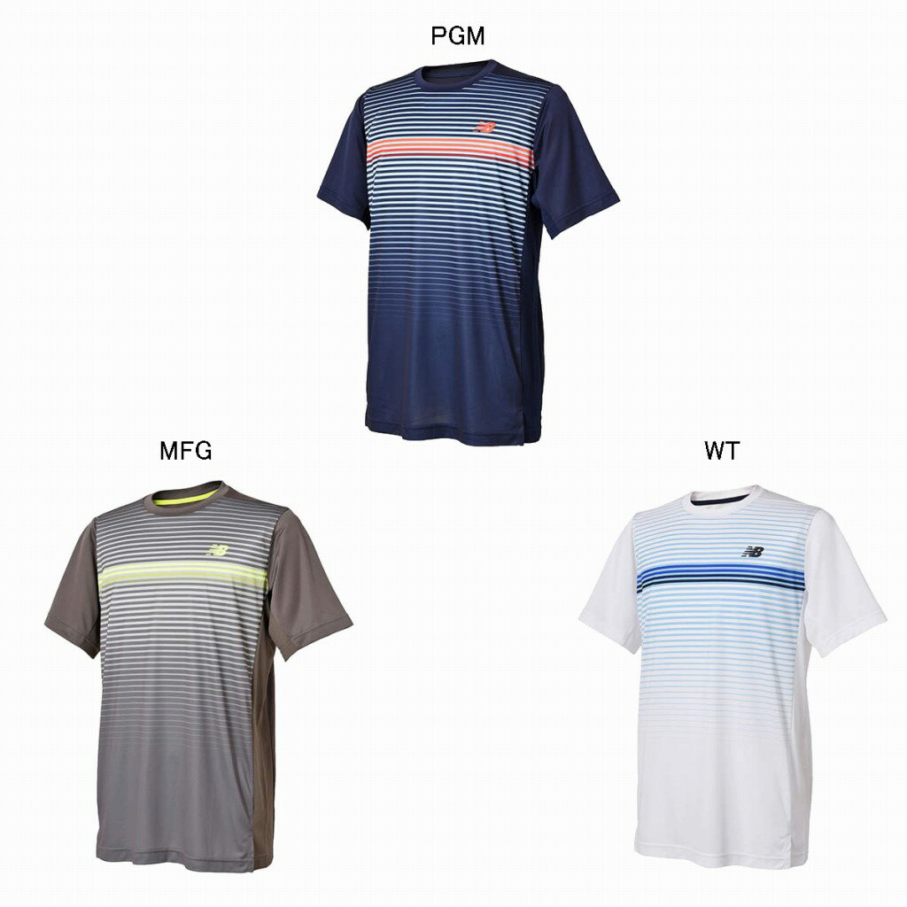 75d3ba29a0fb0 ニューバランス クルーネックゲームシャツ JMTT8011 2018SS ゆうパケット(メール便)対応 ラッキーシール