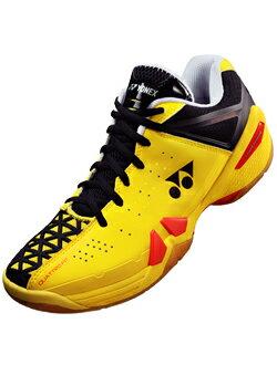 Yonex YONEX 力量緩衝 01 (電源墊 01) 閃光黃色 SHB-01 (557) 25 塞拉里昂 2013 模型羽毛球鞋羽毛球球拍運動休閒鞋低切。