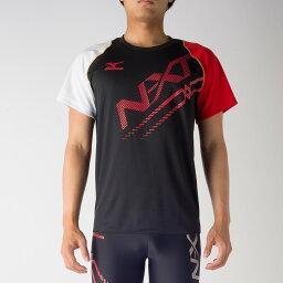 ミズノ N-XT プラクティスシャツ U2MA7020 スポーツ トレーニング 半袖 メンズ ユニセックスMIZUNO 2017SS ゆうパケット(メール便)対応 限定品