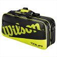 【在庫品】 ウイルソン TOUR RECTANGLE 3 ツアー・レクタングル3WRR614400 バドミントン テニス ラケット バッグ 収納 WILSON 2016年春夏モデル
