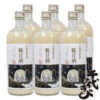 千代むすび酒造糀甘酒アマビエ785g12本セット(送料無料)