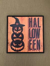 ハロウィンハロウィンプレートボードかぼちゃパンプキンオーナメントガーデニングガーデン置物雑貨グッズ【ハロウィンボードA】