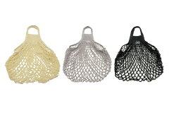 FILTフィルト フランス製ネットバッグ Mサイズ モノクロ【北欧 コットン 綿 メッシュ エコバッグ お買物 トート 野菜袋 おしゃれ】