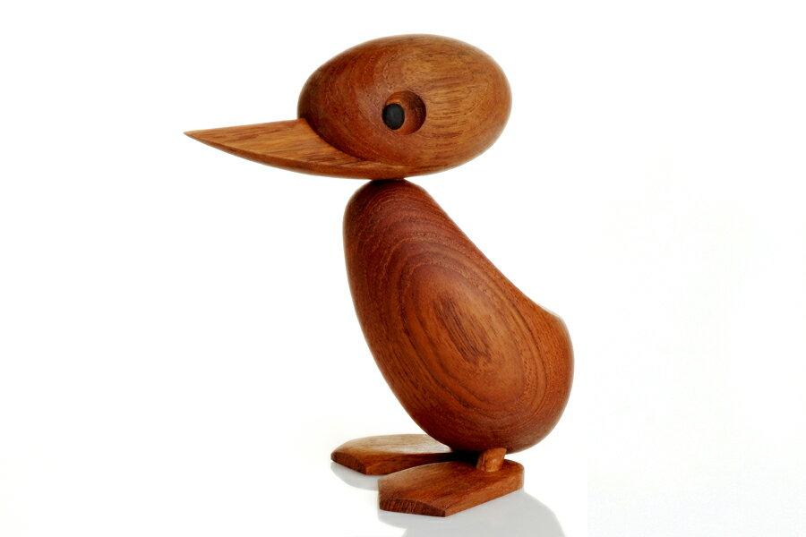 ARCHITECTMADEアーキテクトメイド Duckダック Lサイズ【北欧雑貨 デンマーク チーク材木製オブジェ 置物 ハンスブリング】