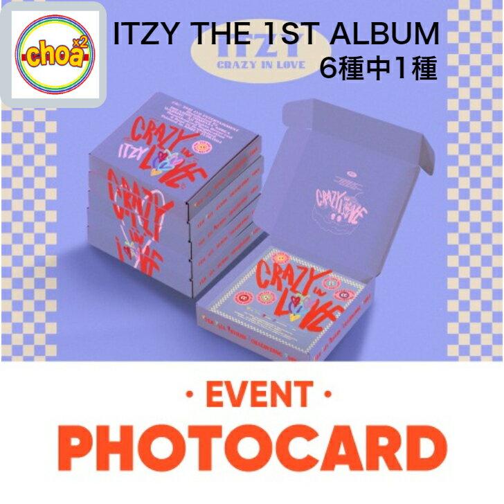 CD, 韓国(K-POP)・アジア ITZY () - CRAZY IN LOVE 1ST ALBUM 61 withdrama