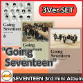 SEVENTEEN-(セブンティーン)3rdMiniAlbum[GoingSeventeen](Ver.MakeAWish)(Ver.MakeItHappen)(Ver.MakeTheSeventeen)3Ver.SETポスター付きMINI3集CDalbumセブチ