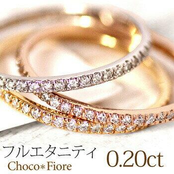 レディースジュエリー・アクセサリー, 指輪・リング K10PGYGWG 0.2ct 314 diamond ring