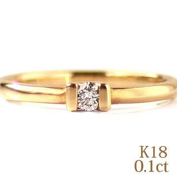 レディースジュエリー・アクセサリー, 指輪・リング  K18YGPGWG 0.10ct 18 k18wg diamond ring