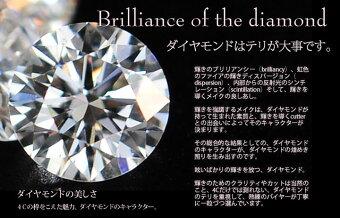 K18YG/PG/WGゴールド0.13ctダイヤモンド馬蹄ネックレス-裏クローバー