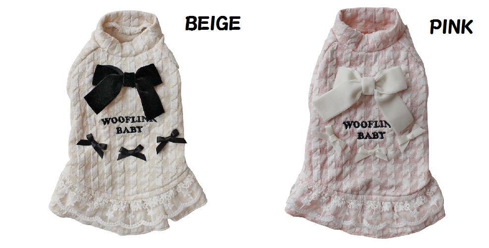 新作【wooflinkウーフリンク】ワンピース セレブ犬 PRETTY JANE