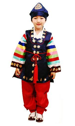 【レンタル】子供レンタルチョゴリ・男の子用No15身長87cm前後 1号サイズ(目安年令1-2才)■f-ren-b15-1-s【男の子レンタル】