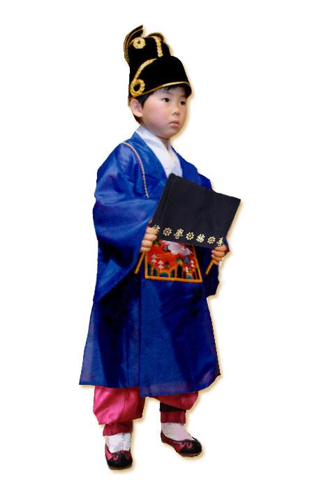 【レンタル】子供レンタルチョゴリ・男の子用(4点のみのセット)No45身長110cm前後 5号サイズ(目安年令5-6才)■f-ren-b45-5-s【男の子レンタル】