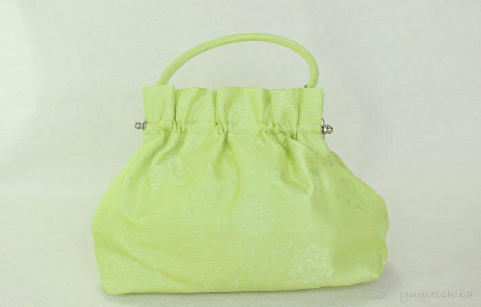 パーティーバッグ・ギャザーバッグ ライトグリーン■bag-1-2rg-s【ギフト】