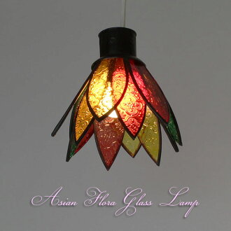 亞洲 floregaraslamp = 印尼亞洲族裔 CMP 5 植物區系玻璃燈室內 cmp-5 =