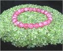 ペリドットさざれ石 極小粒 内容量:100g (橄欖石、かんらんせき、Per...