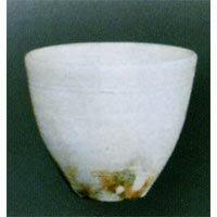 (雑貨)長谷製陶 粉引櫛目 フリーカップ