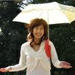 お好きな折りたたみ傘に装着して、両手は自由!肩ブレラ☆
