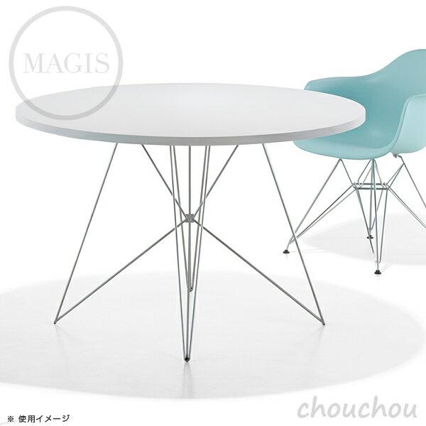 《全2色》MAGISTavoloXZ3(丸型天板)タヴォロXZ3テーブル【マジスデザイン雑貨店舗ギフトお祝い贈り物デザイン雑貨モダンインテアリア】※受注後に納期をご連絡いたします。