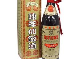 紹興酒  陳年加飯酒(十二年)