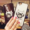 楽天「半額以下」iPhone6sケース スマホカバー バンカーリング iphone6/6s アイフォン6 iphone6/6s plus アイフォン6プラス ケース 落下防止 リングスタンド かわいい 猫 ネコ柄 05P28Sep16