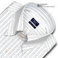 ★新商品★【日清紡アポロコット】【COOLCONSCIOUS】長袖・ダブルストライプ・スナップダウン・ドレスシャツ綿100%形態安定・CHOYAシャツ(cfd114-455)