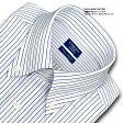 【日清紡アポロコット】綿100%形態安定・長袖・マルチストライプ・ボタンダウン・ドレスシャツ/CHOYAシャツ(cfd221-455)