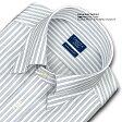 【日清紡アポロコット】【COOL CONSCIOUS】長袖・綿100%形態安定・トリプルストライプ・スナップダウン・ドレスシャツ・CHOYAシャツCHOYA SHIRT FACTORY(cfd322-480)