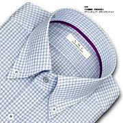 タイニーチェック・ボタンダウン・ドレスシャツ ビジネス ワイシャツ
