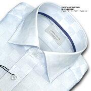 CONTEMPORARY チェックドビー・ワイドカラー ワイシャツ ビジネス