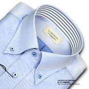 CONTEMPORARY ブルーシャンブレー・ボタンダウン ワイシャツ ビジネス