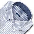 【LORDSON】長袖 綿100% 形態安定加工 標準体クラスターストライプ・ボタンダウンCHOYAシャツ/ドレスシャツ/ワイシャツ/Yシャツ/ビジネスシャツ/メンズ(zod911-455)