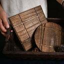 木の鍋敷き 鍋敷き 丸 正方形 木 鍋敷 北欧 なべ敷き おしゃれ なべしき 鍋しき かわいい インテリア キッチ あす楽 母の日 母の日ギフト
