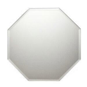 幸運を引き寄せるフレームレス八角ミラー卓上壁掛け両様無段階角度調節可能