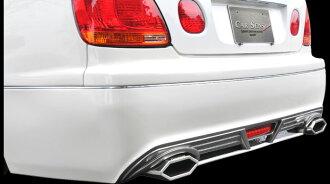 アリスト16系マフラー(角刈りエディション溶接タイプ)両側出しクリエイティブディレクションシリーズカーセンス